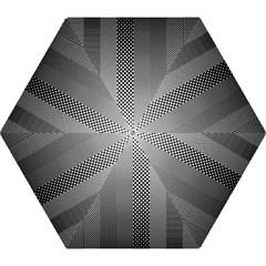 Semi Authentic Screen Tone Gradient Pack Mini Folding Umbrellas