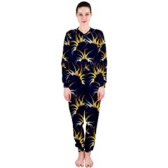 Pearly Pattern OnePiece Jumpsuit (Ladies)