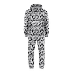 Skulls Face Mask Bone Cloud Rain Hooded Jumpsuit (Kids)