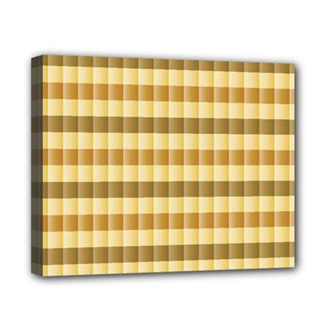 Pattern Grid Squares Texture Canvas 10  x 8