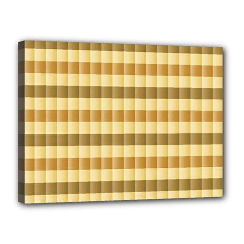 Pattern Grid Squares Texture Canvas 16  x 12