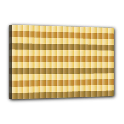 Pattern Grid Squares Texture Canvas 18  X 12