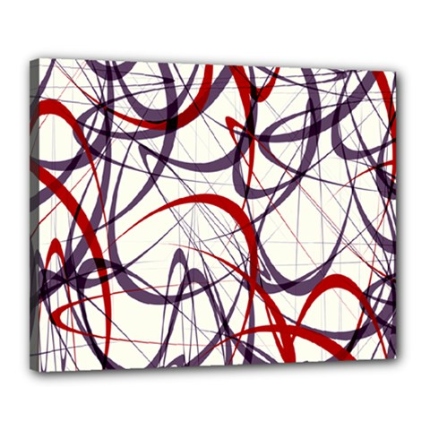 Purple Red Canvas 20  x 16