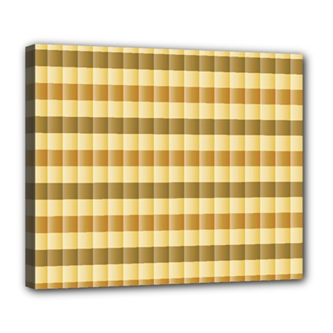 Pattern Grid Squares Texture Deluxe Canvas 24  x 20