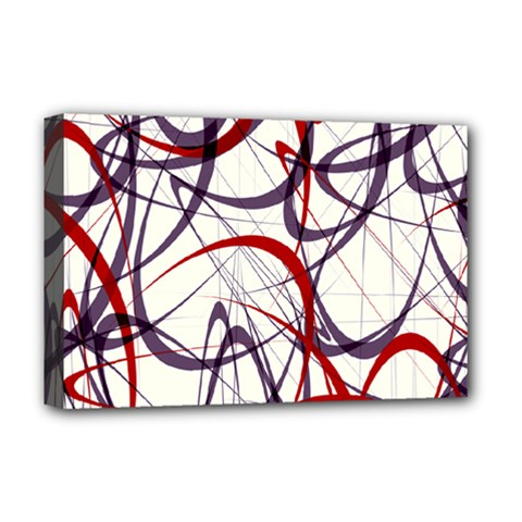 Purple Red Deluxe Canvas 18  x 12