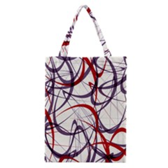 Purple Red Classic Tote Bag