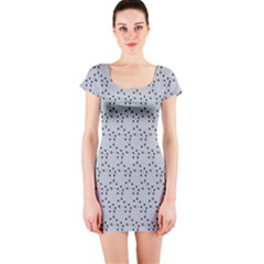 Winter Bear Triangel Short Sleeve Bodycon Dress