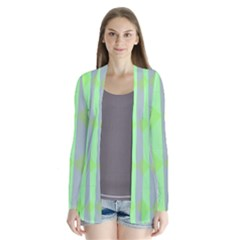 Squares Triangel Green Yellow Blue Cardigans
