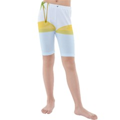 Summer Sea Beach Kids  Mid Length Swim Shorts