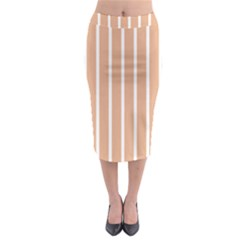 Symmetric Grid Foundation Midi Pencil Skirt