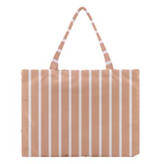 Symmetric Grid Foundation Medium Tote Bag