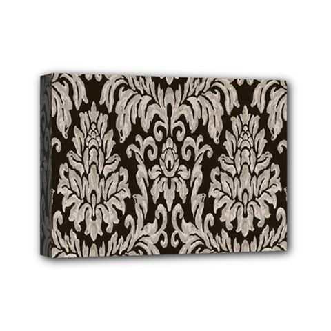 Wild Textures Damask Wall Cover Mini Canvas 7  x 5