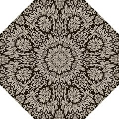 Wild Textures Damask Wall Cover Hook Handle Umbrellas (Large)
