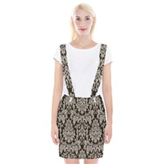 Wild Textures Damask Wall Cover Suspender Skirt