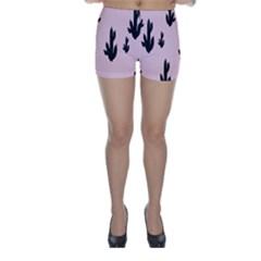 Tree Kartus Pink Skinny Shorts