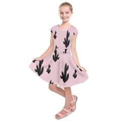 Tree Kartus Pink Kids  Short Sleeve Dress
