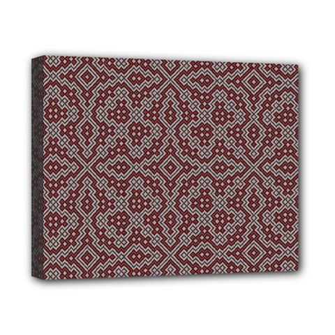 Simple Indian Design Wallpaper Batik Canvas 10  x 8