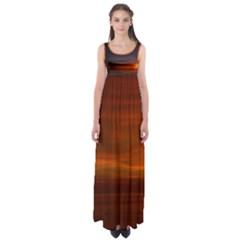 Sunset wide Empire Waist Maxi Dress