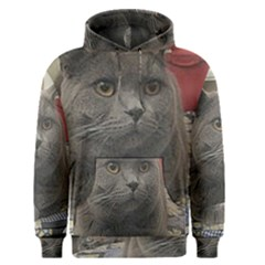 British Shorthair Grey Men s Pullover Hoodie