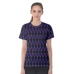 Psychedelic 70 S 1970 S Abstract Women s Cotton Tee