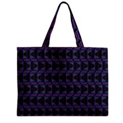 Psychedelic 70 S 1970 S Abstract Zipper Mini Tote Bag