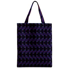 Psychedelic 70 S 1970 S Abstract Zipper Classic Tote Bag