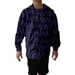 Psychedelic 70 S 1970 S Abstract Hooded Wind Breaker (Kids)