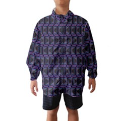 Psychedelic 70 S 1970 S Abstract Wind Breaker (Kids)