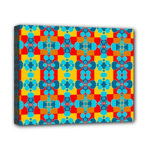 Pop Art Abstract Design Pattern Canvas 10  x 8