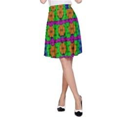 Gershwins Summertime A-Line Skirt
