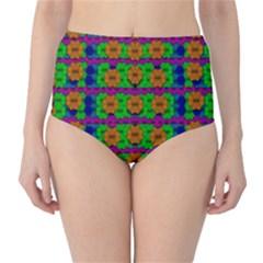 Gershwins Summertime High-Waist Bikini Bottoms