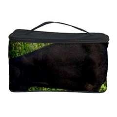 Doberman Pinscher Black Full Cosmetic Storage Case