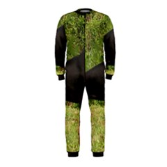 Doberman Pinscher Black Full OnePiece Jumpsuit (Kids)