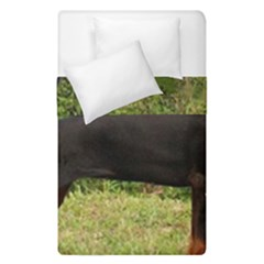 Doberman Pinscher Black Full Duvet Cover Double Side (Single Size)