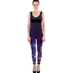 Raised Building Frame OnePiece Catsuit