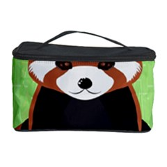 Red Panda Bamboo Firefox Animal Cosmetic Storage Case
