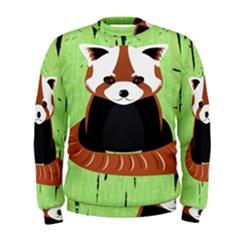 Red Panda Bamboo Firefox Animal Men s Sweatshirt