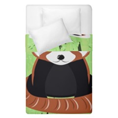 Red Panda Bamboo Firefox Animal Duvet Cover Double Side (single Size)
