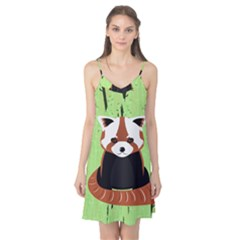 Red Panda Bamboo Firefox Animal Camis Nightgown
