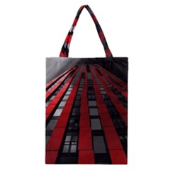 Red Building City Classic Tote Bag