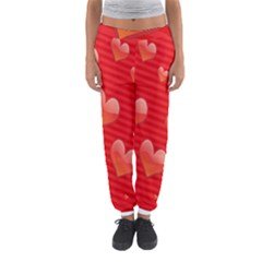 Red Hearts Women s Jogger Sweatpants