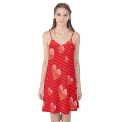 Red Hearts Camis Nightgown