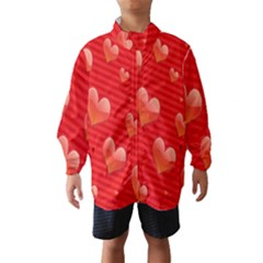 Red Hearts Wind Breaker (kids)