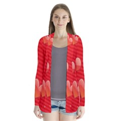 Red Hearts Cardigans