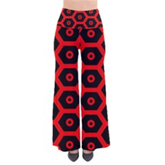Red Bee Hive Texture Pants