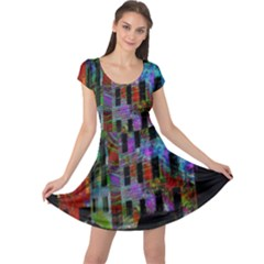 Science Center Cap Sleeve Dresses