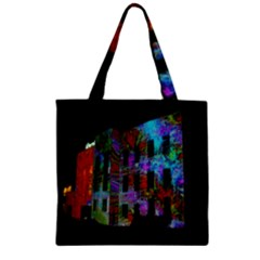 Science Center Zipper Grocery Tote Bag