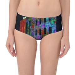 Science Center Mid-Waist Bikini Bottoms