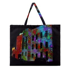 Science Center Zipper Large Tote Bag