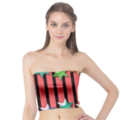Star Christmas Greeting Tube Top